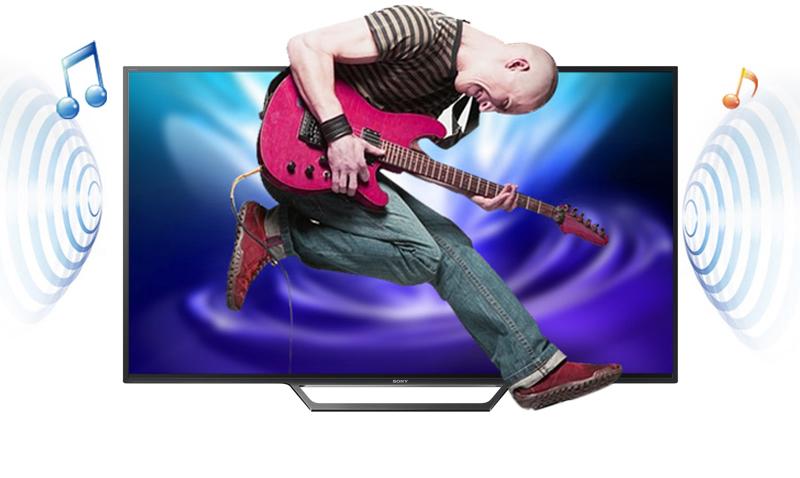 Internet Tivi Sony 40 inch KDL-40W650D - Âm thanh chân thực