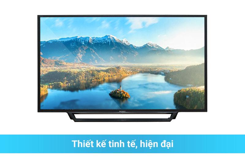 Internet Tivi KDL-48W650D thiết kế đẹp mắt