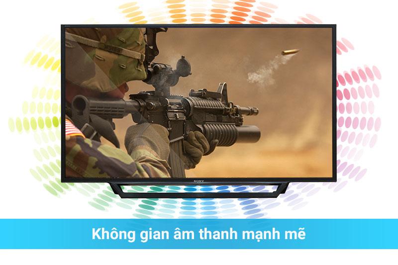Sony KDL-48W650D âm thanh mạnh mẽ