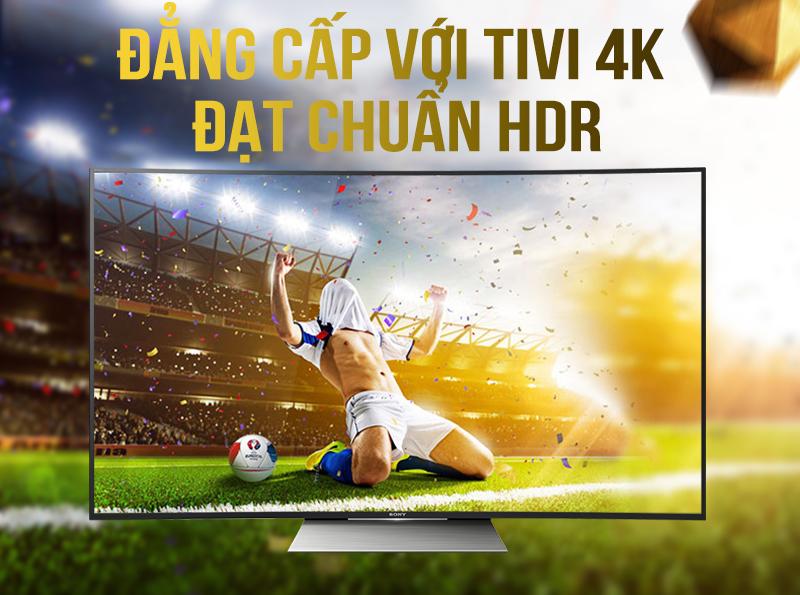 Tivi KD-55S8500D màn hình cong