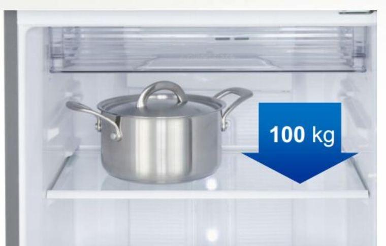 Tủ lạnh inverter Panasonic NR-BX468GKVN 450 Lít Khay kính chịu lực