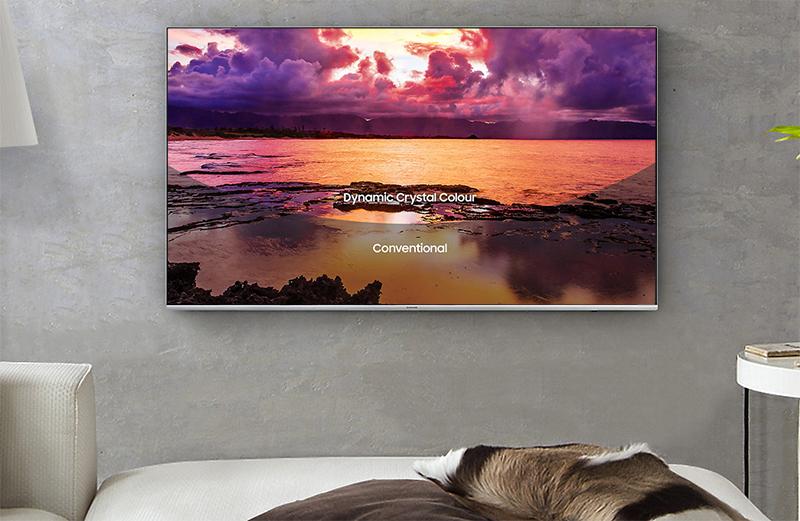 Smart Tivi 4K Samsung 75 inch 75MU7000 độ tương phản cao