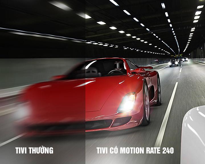 Smart Tivi 4K Samsung 75 inch 75MU7000 motion rate 240