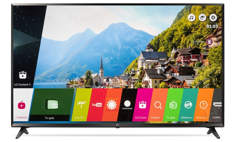 Smart Tivi LG 4K 43 inch 43UJ632T. Hệ điều hành Web OS new