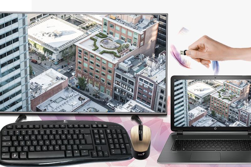 Smart Tivi LG 4K 43 inch 43UJ632T Đa dạng các kết nối