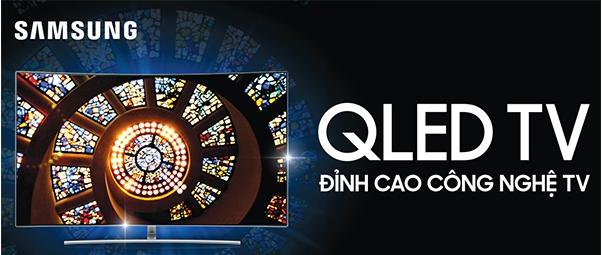 Smart Tivi QLED 4K Samsung QA55Q8CAM màn hình Qled