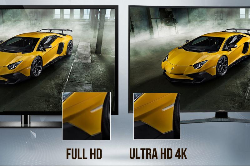 Smart Tivi Cong Samsung 4K 55 inch UA55KU6500 màn hình 4K