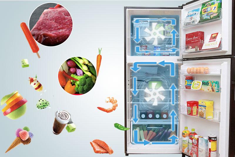 Công nghệ làm lạnh trong tủ lạnh R-VG400PGV3 (GBW)