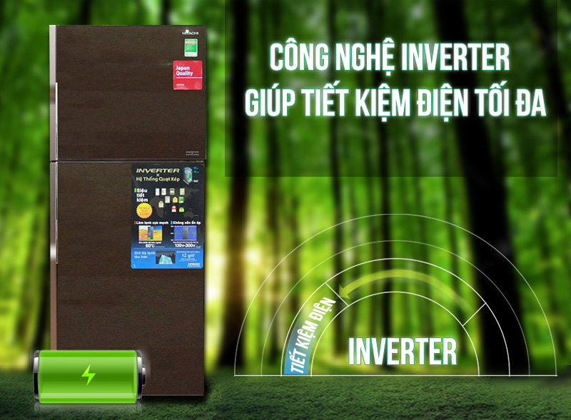 R-VG400PGV3 (GBW) công nghệ inverter