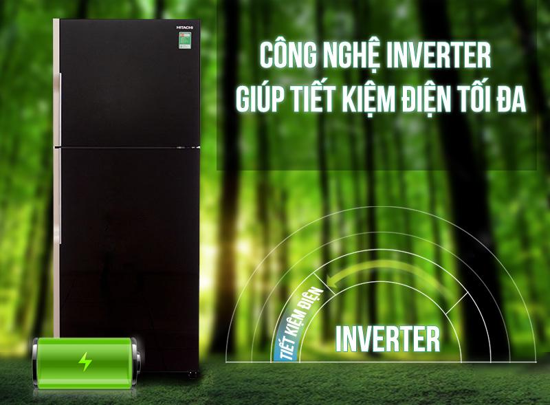 Công nghệ tiết kiệm điện trên tủ lạnh R-VG470PGV3