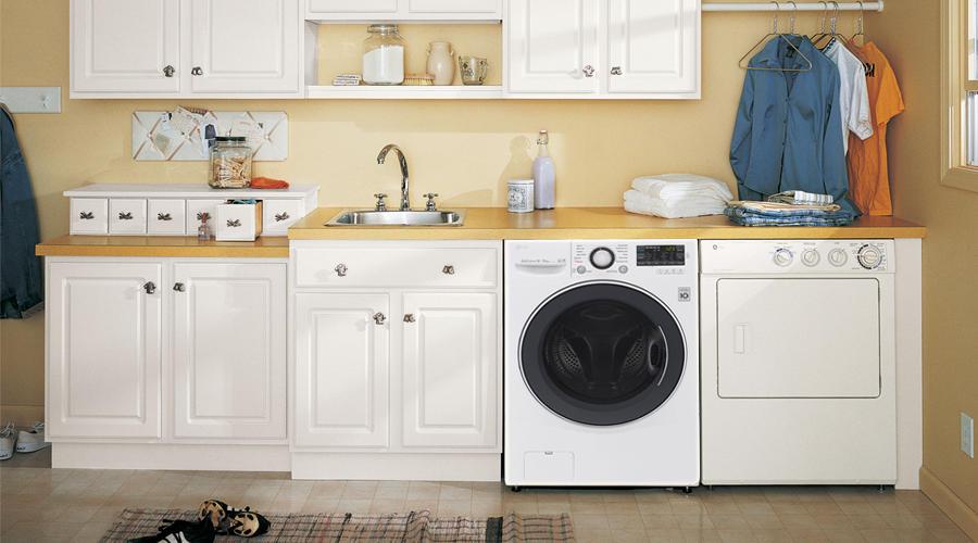 Máy giặt sấy LG F2514DTGW - thiết kế hiện đại