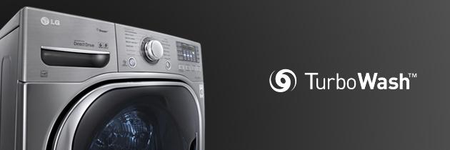 Máy giặt sấy LG F2514DTGW - Turbo wash