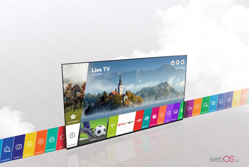 Smart Tivi LG 4K 86 inch 86SJ957T với WEB OS