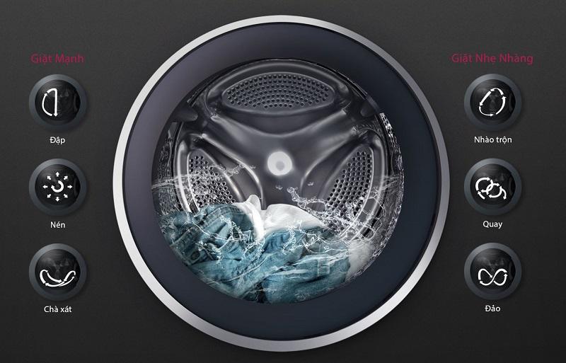 Máy giặt LG FC1408S4W1 - 6 Motion DD