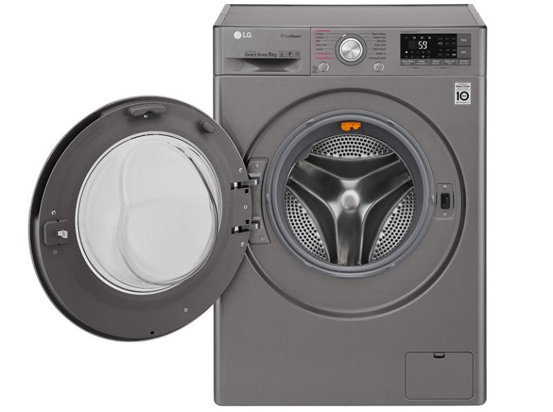 Máy giặt LG inverter 9 kg FC1409S2E thiết kế đẹp