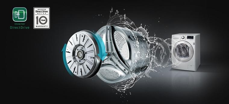 Máy giặt LG FC1409S2W - công nghệ inverter