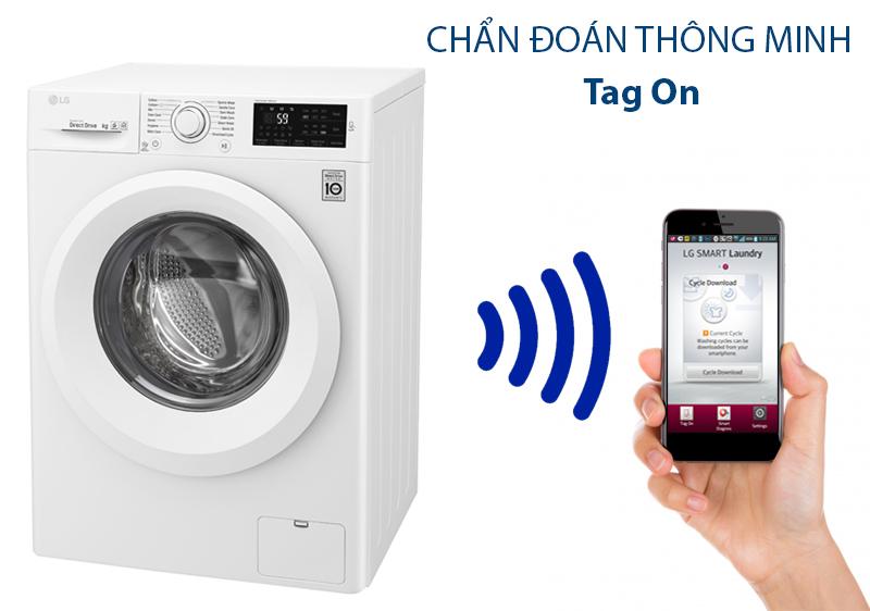 Máy giặt LG FC1475N5W2 chức năng chuẩn đoán thông minh
