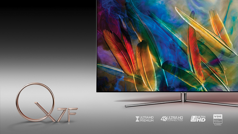 Smart Tivi QLED 65 inch 4K Samsung QA65Q7F Công nghệ Quantum Dot