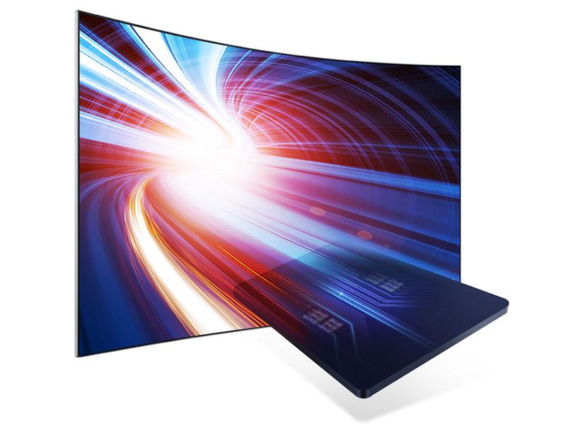 Smart Tivi QLED 4K Samsung 49 Inch QA49Q7F vi xử lí mạnh mẽ