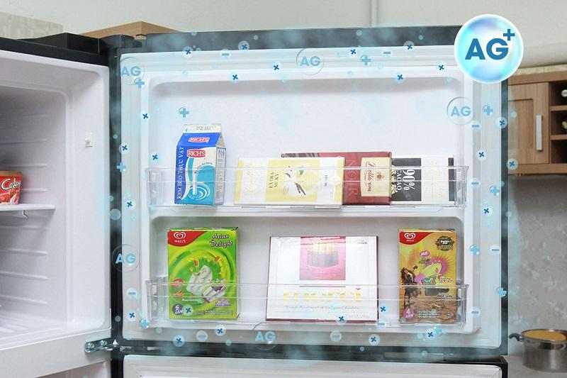 Kháng khuẩn ag+ của dòng tủ lạnh R-VG540PGV3