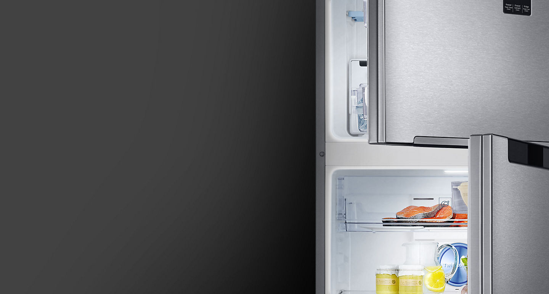 Tủ lạnh Samsung Inverter 362 lít Twin Cooling Plus RT35K5982 DX Thiết kế đẹp mắt