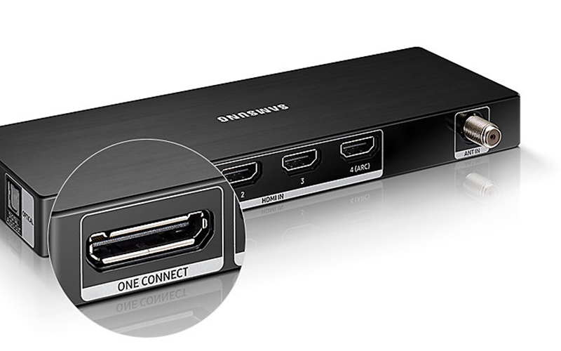 Smart Tivi 4K Samsung 82 inch UA82NU8000 one connect