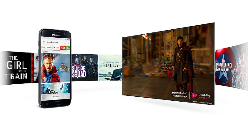 Smart Tivi 4K Samsung 82 inch UA82NU8000 Smart Hub