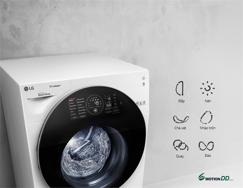 Máy giặt LG FG1405S3W - 6 Motion DD