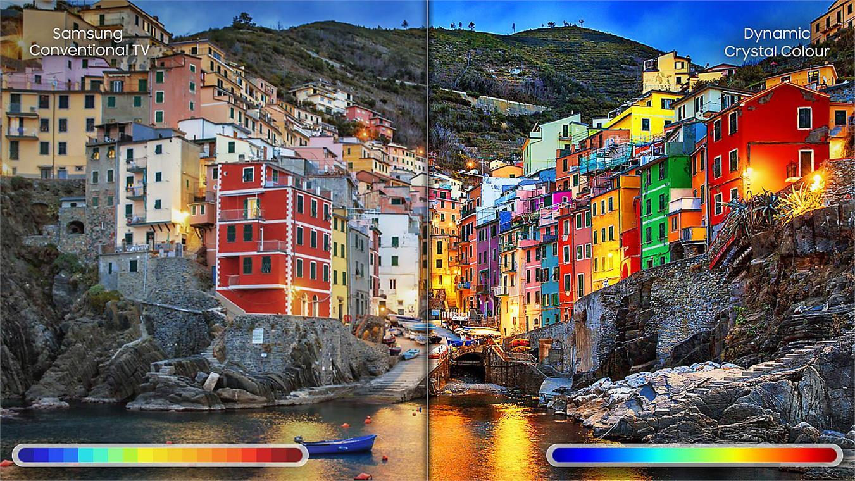 Smart Tivi 4K Samsung UA55NU7500 Dynamic Crystal Colour