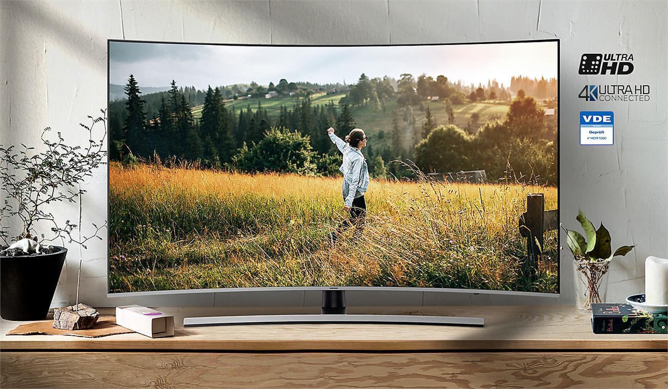 Smart Tivi Cong Samsung 4K 65 inch 65NU8500 Sống động mọi khoảnh khắc