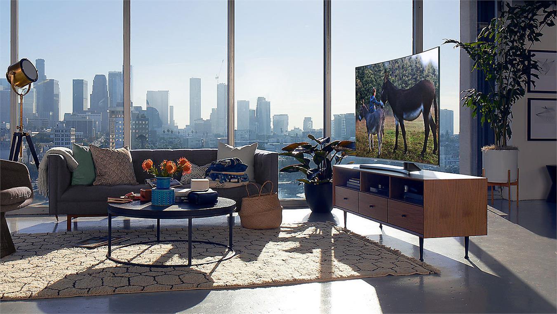 Smart Tivi Cong Samsung 4K 65 inch 65NU8500 thiết kế tinh tế