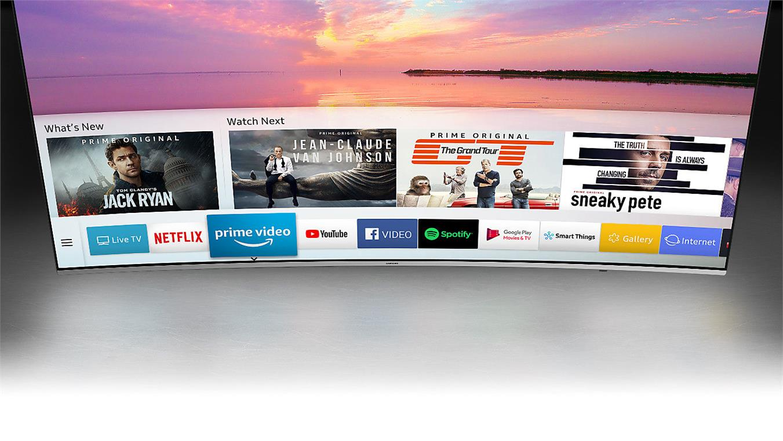 Smart Tivi Cong Samsung 4K 65 inch 65NU8500 giải trí mở rộng