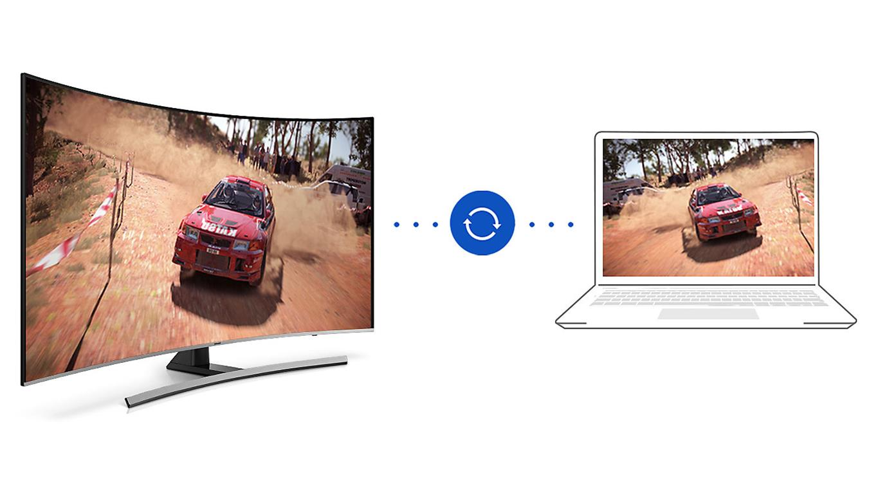 Smart Tivi Cong Samsung 4K 65 inch 65NU8500 steam link