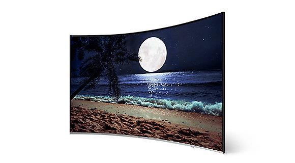 Smart Tivi Cong Samsung 4K 65 inch 65NU8500 Hiệu ứng mảng chiều sâu