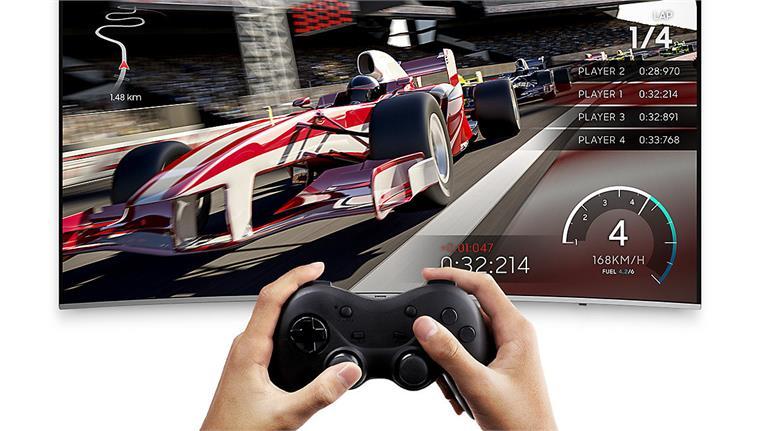 Smart Tivi Cong Samsung 4K 65 inch 65NU8500 chế độ game đỉnh cao