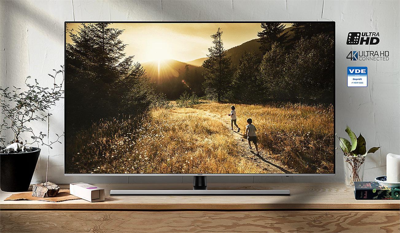 Smart Tivi Samsung 4K 75 inch UA75NU8000 hình ảnh sống động