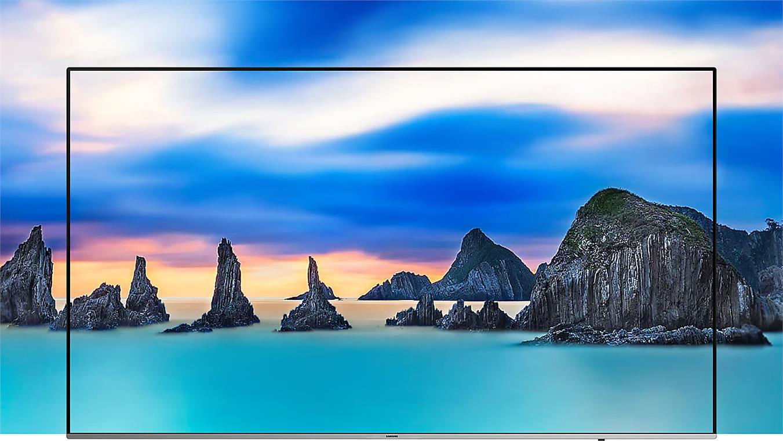 Smart Tivi Samsung 4K 75 inch UA75NU8000 Thiết kế tràn viền