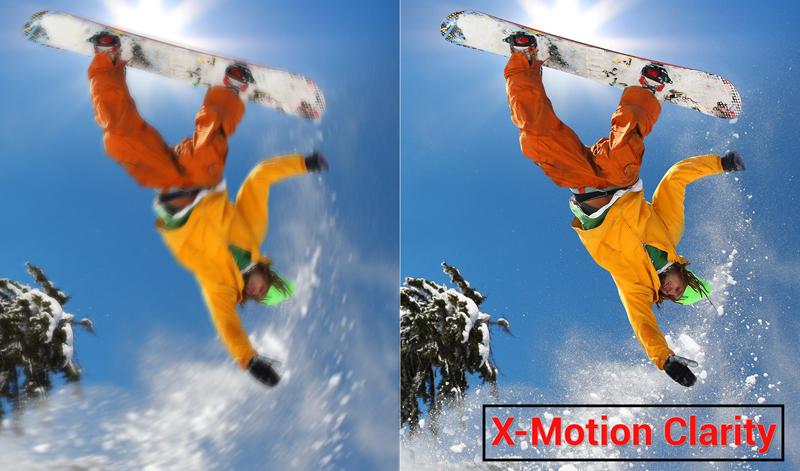 X-Motion Clarity trên Sony KD-49X9000F