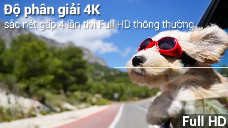 Smart Tivi LG 4K 49 inch 49UK7500PTA Độ phân giải 4K chân thực