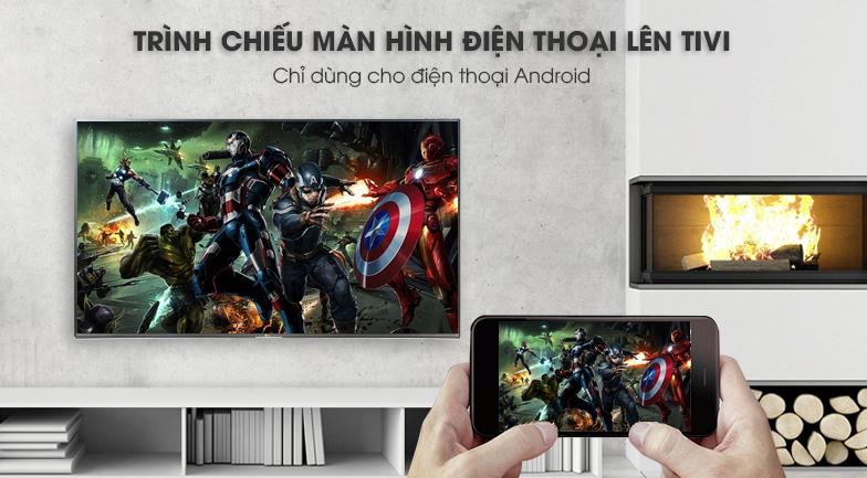 Smart Tivi LG 4K 49 inch 49UK7500PTA trải nghiệm màn hình điện thoại trên TIvi