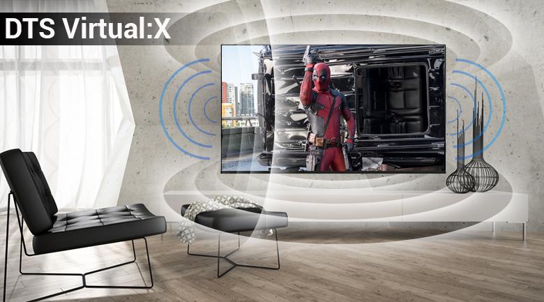 Smart Tivi LG 4K 65 inch 65UK6100 PTA Âm thanh sống động