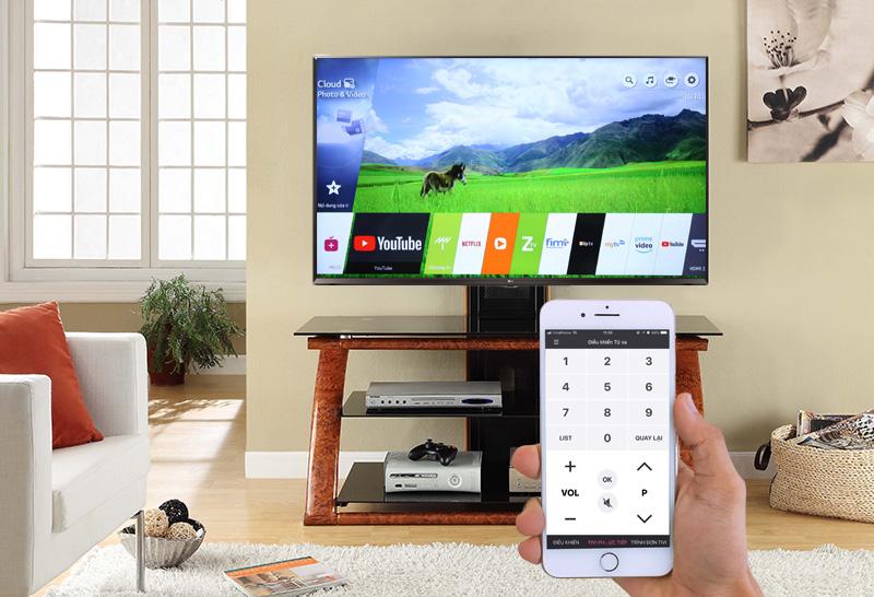 Smart Tivi LG 4K 65 inch 65UK6100 PTA Hệ điều hành WEB OS