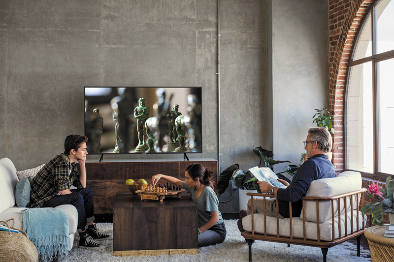 Smart Tivi Samsung 4K 43 inch UA43NU7100 thiết kế hiện đại, tinh tế