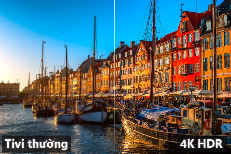 Smart Tivi Samsung 4K 43 inch UA43NU7100 chất lượng 4K HDR