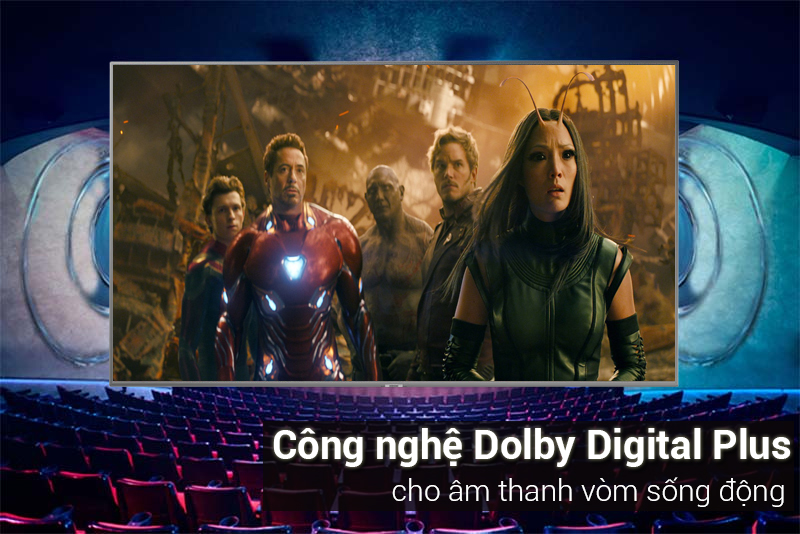 Smart Tivi Samsung 4K 50 inch UA50NU7400 Dolby Digital Plus