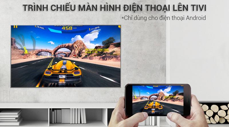 Smart Tivi Samsung 4K 50 inch UA50NU7400 Trình chiều màn hình điện thoại