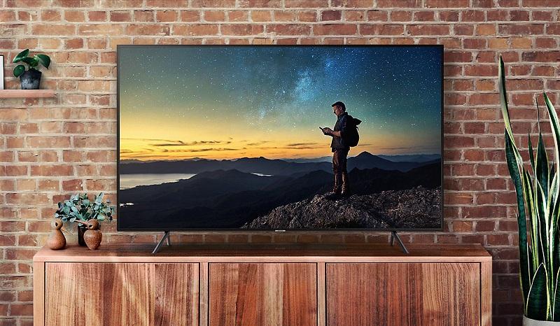 Smart Tivi Samsung 4K 75 inch UA75NU7100 Kiểu dáng hiện đại sang trong