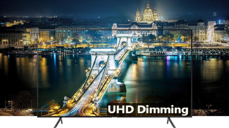 Smart Tivi Samsung 4K 75 inch UA75NU7100 UHD Dimming