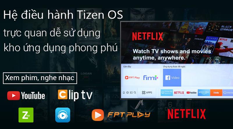 Smart Tivi Samsung 4K 75 inch UA75NU7100 tizen OS