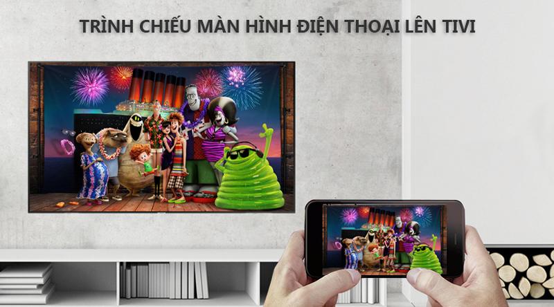 Smart Tivi Samsung 4K 75 inch UA75NU7100 trình chiều màn hình tivi